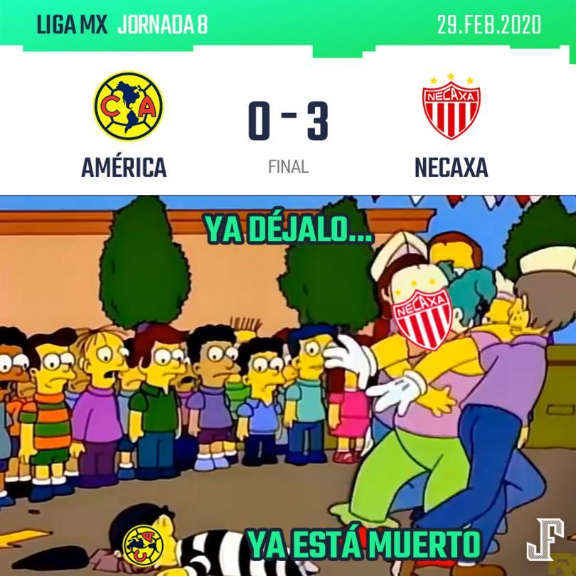 Momazos derrota del América