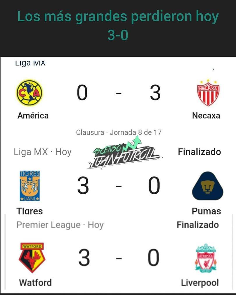 Con hat-trick de Gignac, Tigres goleó a Pumas en Monterrey