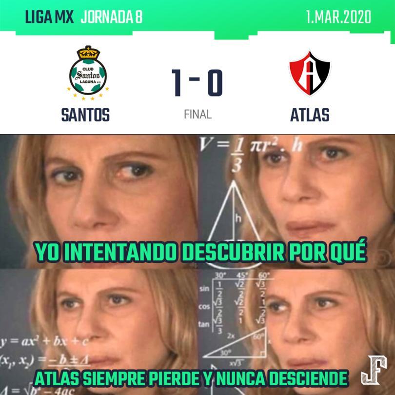 Con gol de Julio Furch, Santos venció sin mucho problema al Atlas.