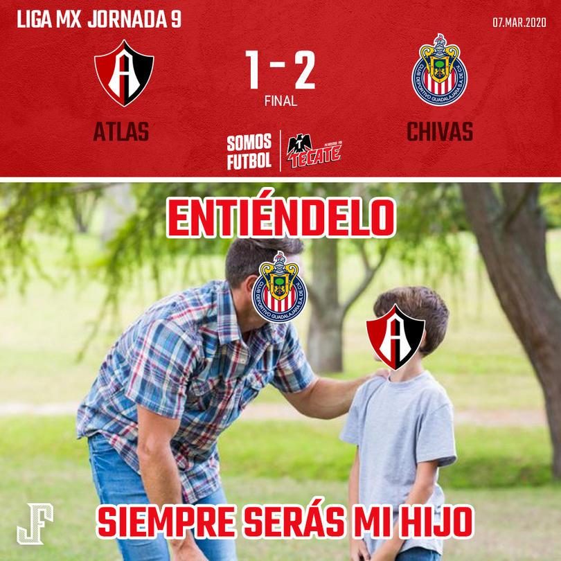 Con goles de Molina y JJ Macías, Chivas se volvió a llevar el Clásico Tapatío.