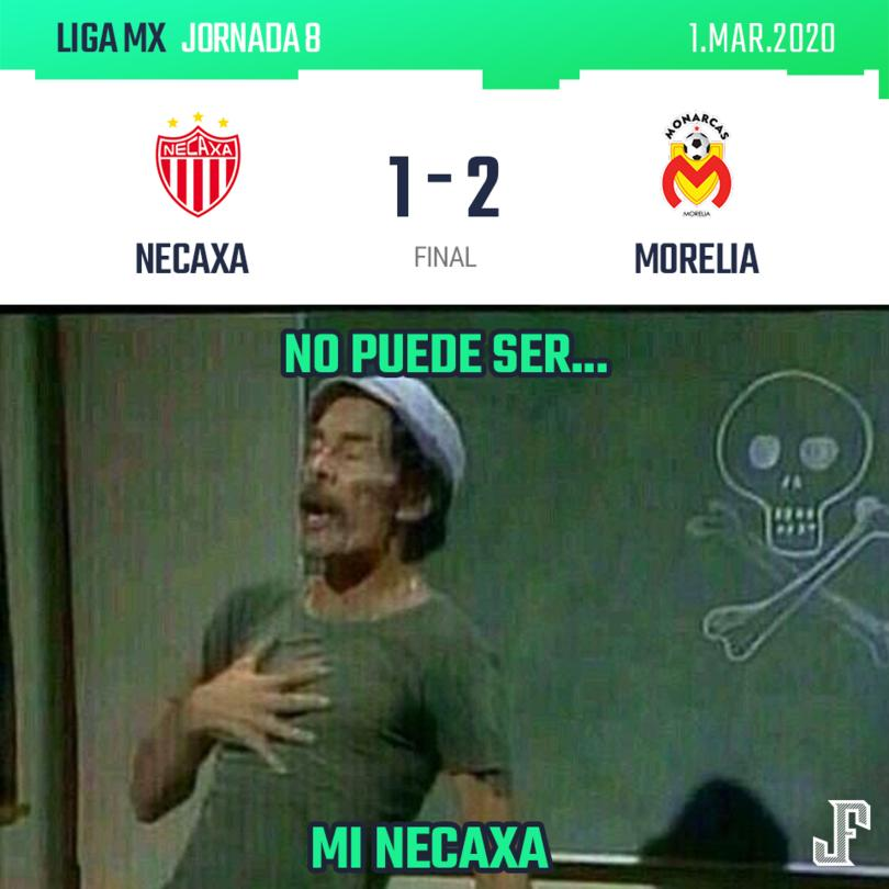 Necaxa 1-2 Morelia