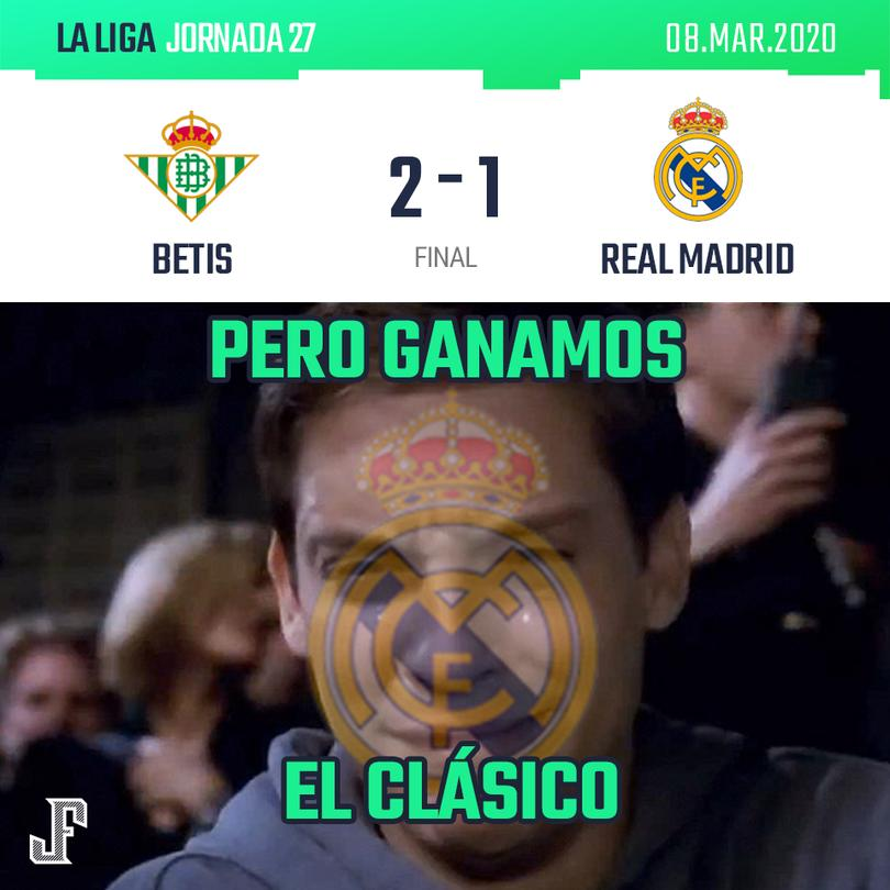 Betis 2-1 Real Madrid