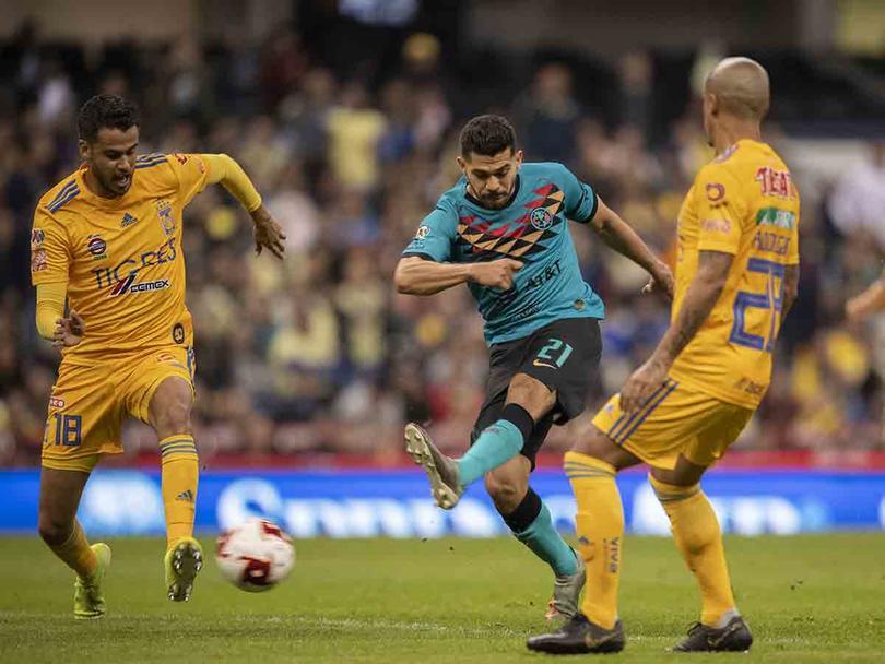 América 1-0 Tigres en la Jornada 2 del Clausura 2020