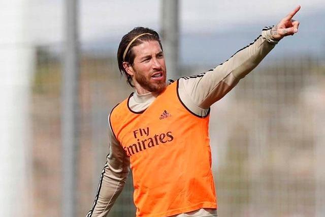 Sergio Ramos es uno de los cracks que se sumó al #10toqueschallenge