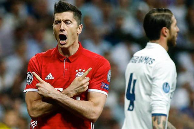 Lewandowski rechazó al Real Madrid