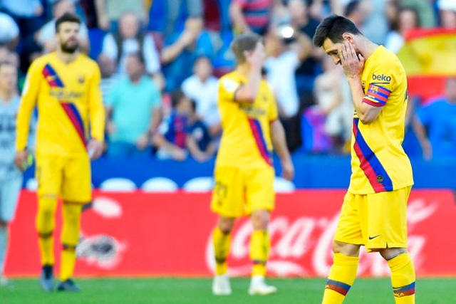 Barcelona buscaría aplicar una reducción de salarios a sus jugadores