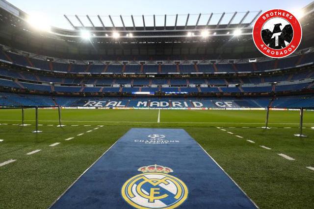 Real Madrid convierte el Bernabéu en un centro para almacenar material sanitario