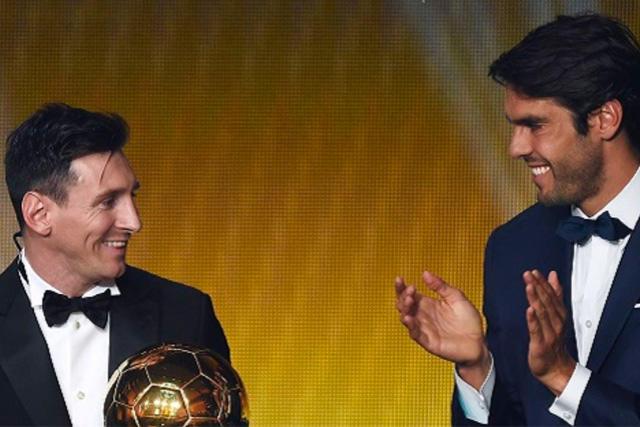 Lionel Messi y Kaká