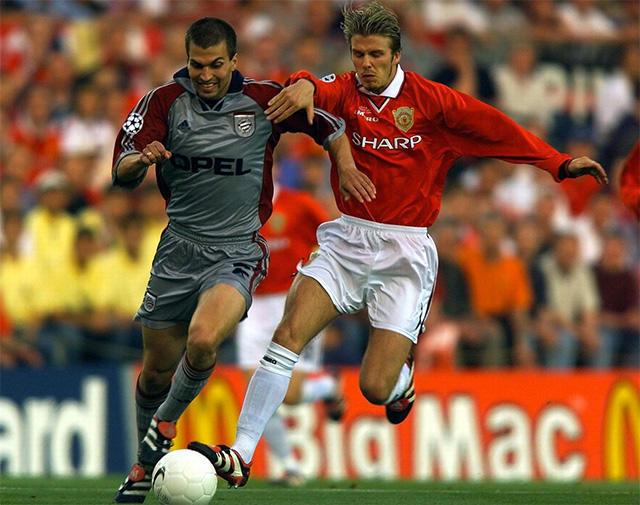 La Champions League en la temporada 1998-99 cuando se jugaba con balones Nike
