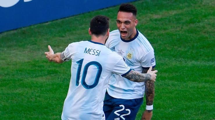 Messi y Lautaro podrían jugar juntos en el Barcelona