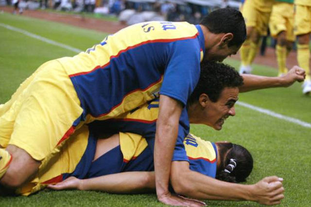 América venció 4-3 al River Plate de Simeone, Falcao y Alexis