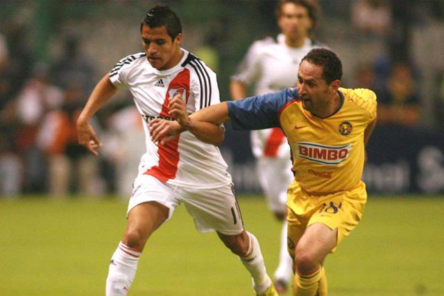 Alexis Sánchez y Germán Villa