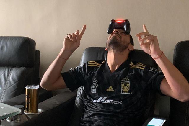 Nahuel Guzmán mostró sus dotes como narrador deportivo