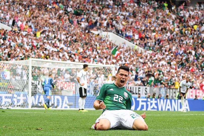 Gol de Hirving Lozano a Alemania en el mundial de Rusia 2018