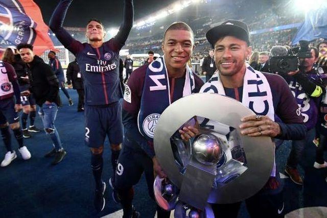 PSG campeón de la liga de Francia