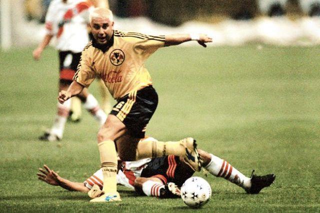 Antonio Mohamed como refuerzo del América para la Libertadores de 1998