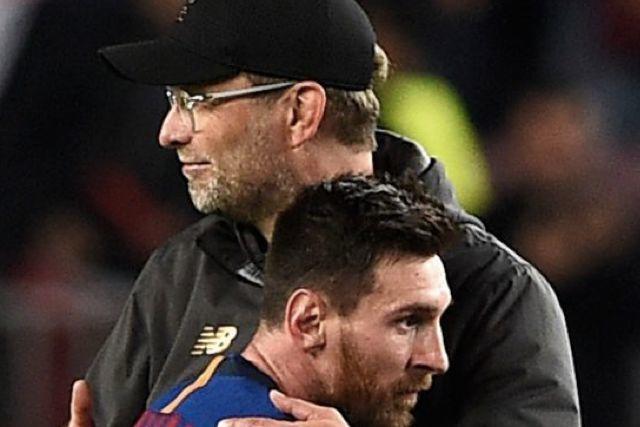 Klopp y Messi