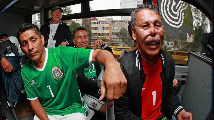Jorge Campos y Pablo Larios