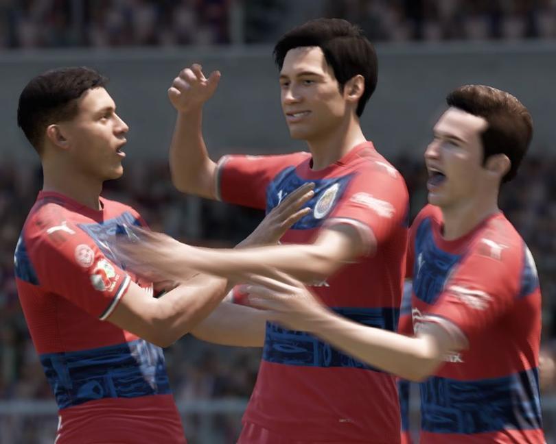 Celebración de gol - Chivas