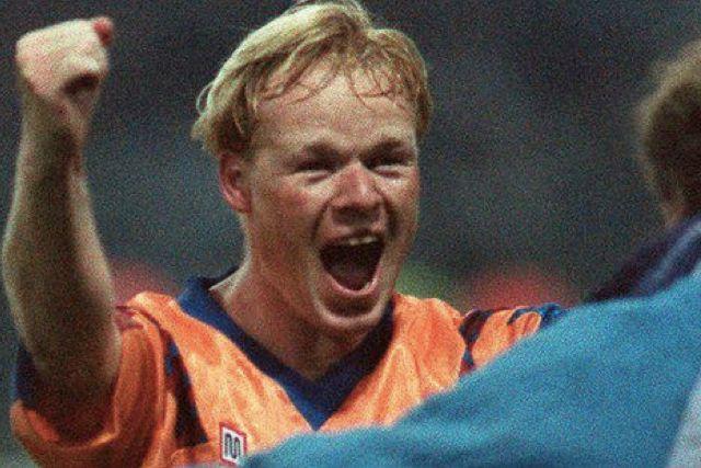 Ronald Koeman, el héroe del Barcelona en la final de la Champions de 1992