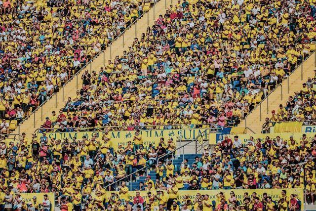 Las Palmas jugará sus partidos de local a puerta abierta