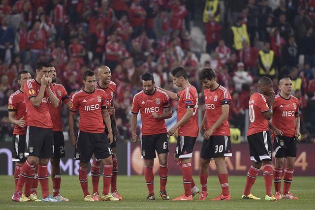 Benfica pierde la final de la Europa League en 2014 y acumula 52 años sin ganar