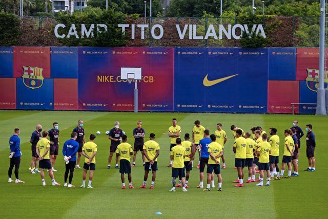 Cinco jugadores del Barcelona habrían dado positivo de coronavirus