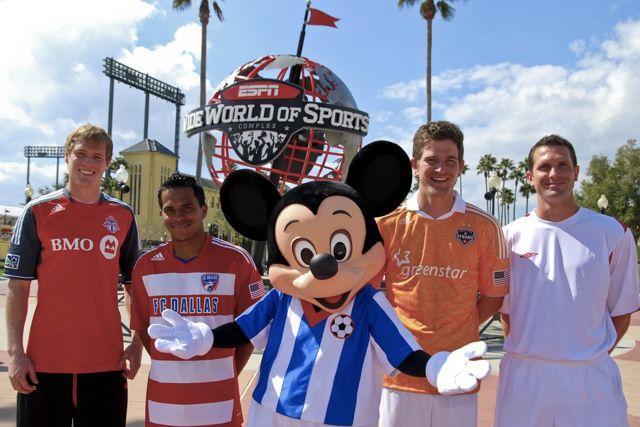 La MLS se jugará en el ESPN Wide World of Sports de Disney