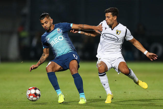 Tecatito Corona anotó el gol del Porto en el regreso de la Liga de Portugal