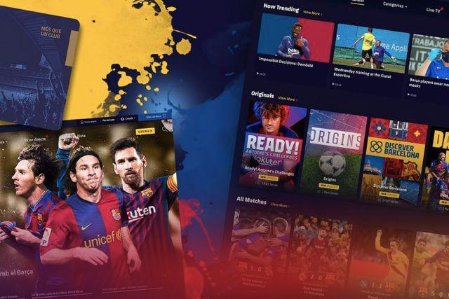 Barca TV+, plataforma de streaming exclusiva del Barcelona