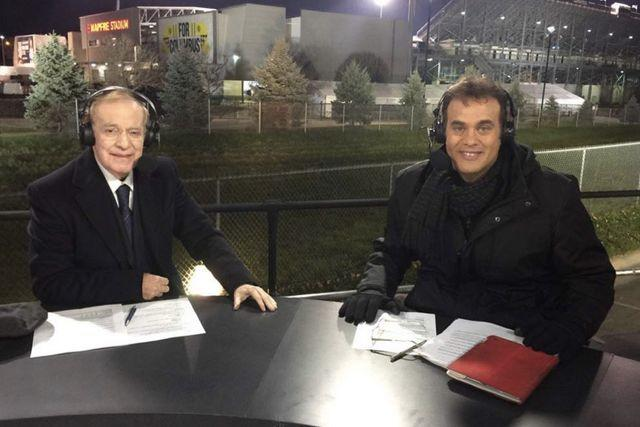 José Ramón Fernández y David Faitelson