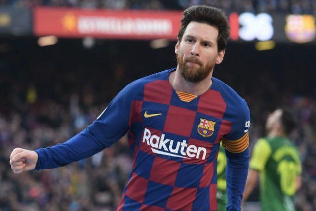 Lionel Messi se recupera de la lesión en la pierna derecha