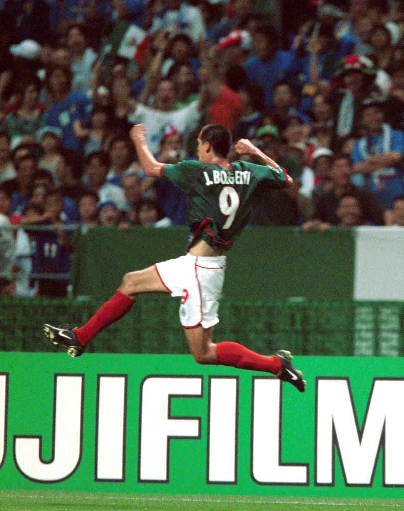 18 años del golazo de Jared Borgetti a Italia en el Mundial del 2002.