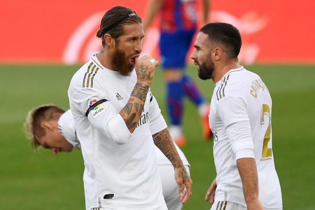Sergio Ramos llegó a 116 goles en su carrera