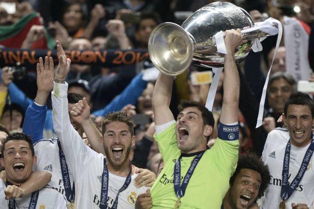 Real Madrid campeón de la Champions League 2013-2014 en Lisboa