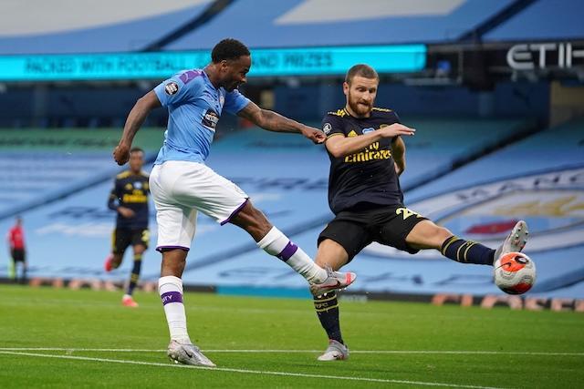Raheem Sterling puso el primer gol en el regreso de la Premier League