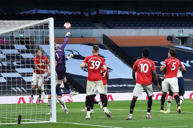 David De Gea se volvió a equivocar y regaló un gol en contra el Manchester United