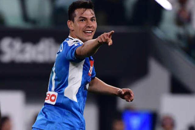 Hirving Lozano entró al 84' y seis minutos después anotó su tercer gol en la Serie A