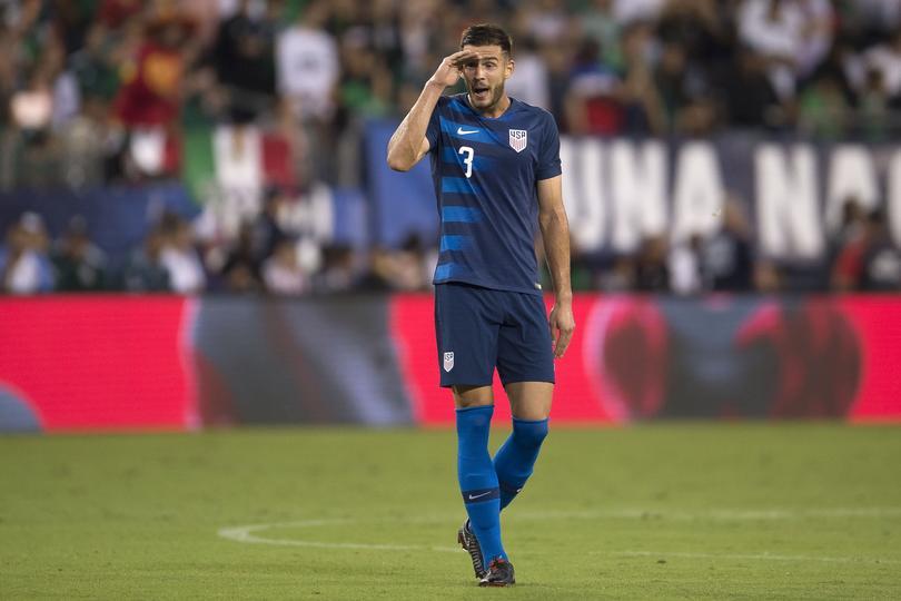 Matt Miazga con la Selección de Estados Unidos