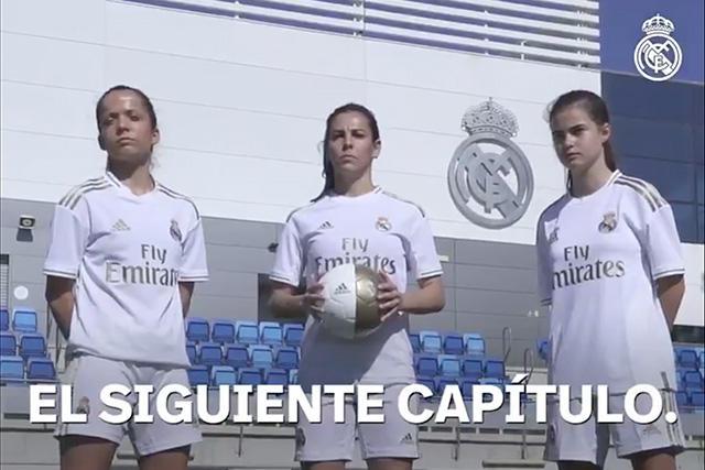 Nace oficialmente el Real Madrid Femenil