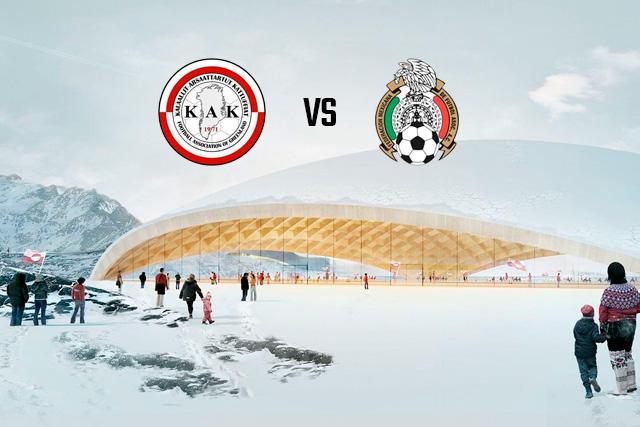 Prototipo del Arktisk Stadion en Groenlandia