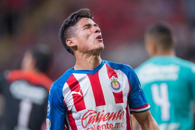 Uriel Antuna es duda para el debut de Chivas en la Copa por México