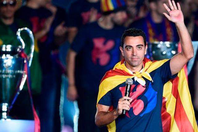 Xavi sustituiría a Quique Setién al final de la temporada