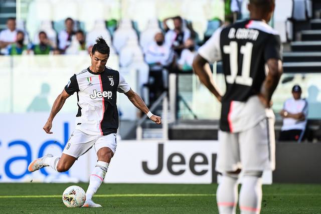 Cristiano Ronaldo ante el Torino