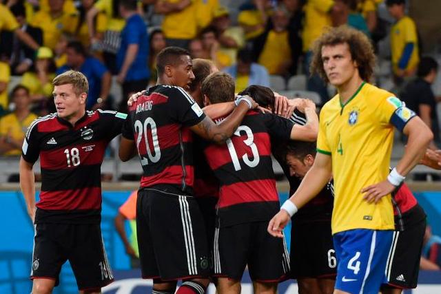 Hace seis años Alemania le ganaba 7-1 a Brasil y los dejaba fuera de su mundial