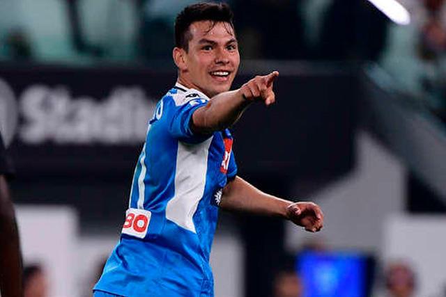 El Chucky Lozano alcanzó su quinto gol en la temporada con el Napoli