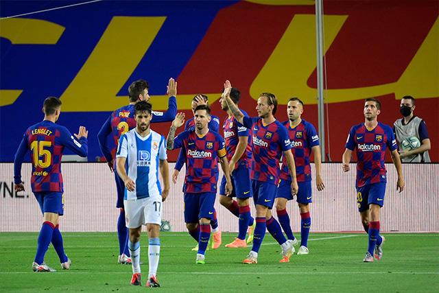 Barcelona le ganó 1-0 al Espanyol, resultado que matemáticamente pone a los Periquitos en Segunda