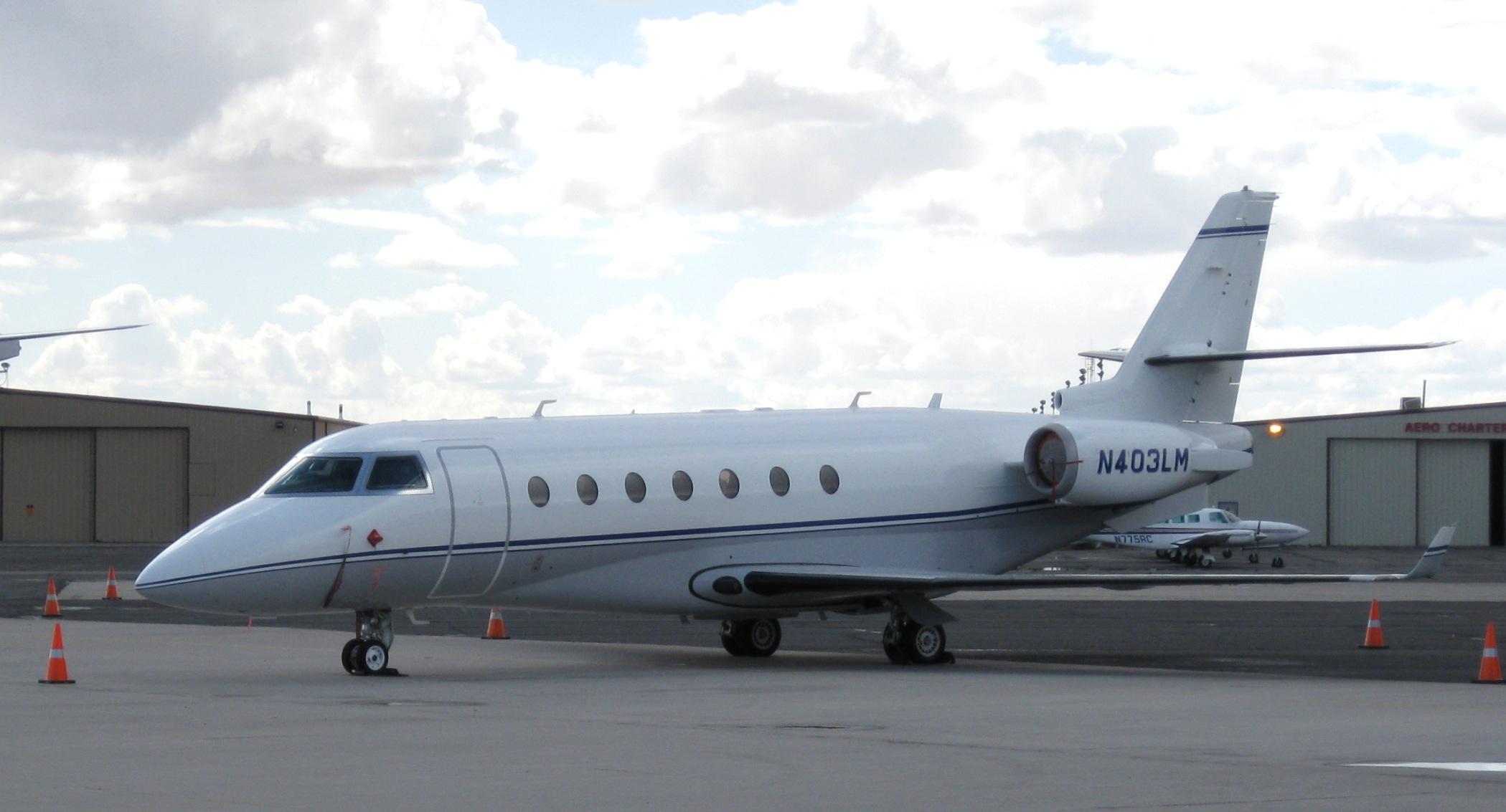 GulfStream G200, el nuevo avión privado de Cristiano Ronaldo