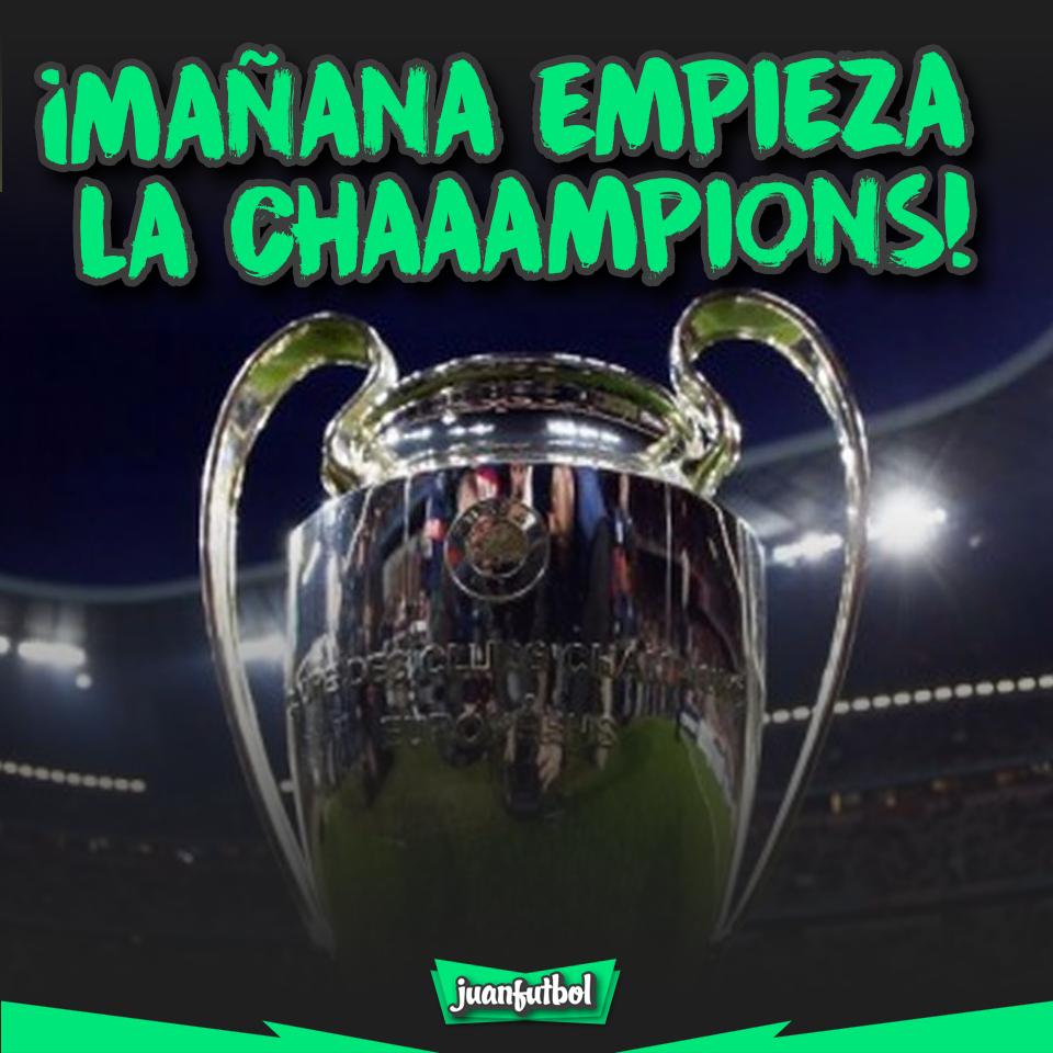 Champions mañana