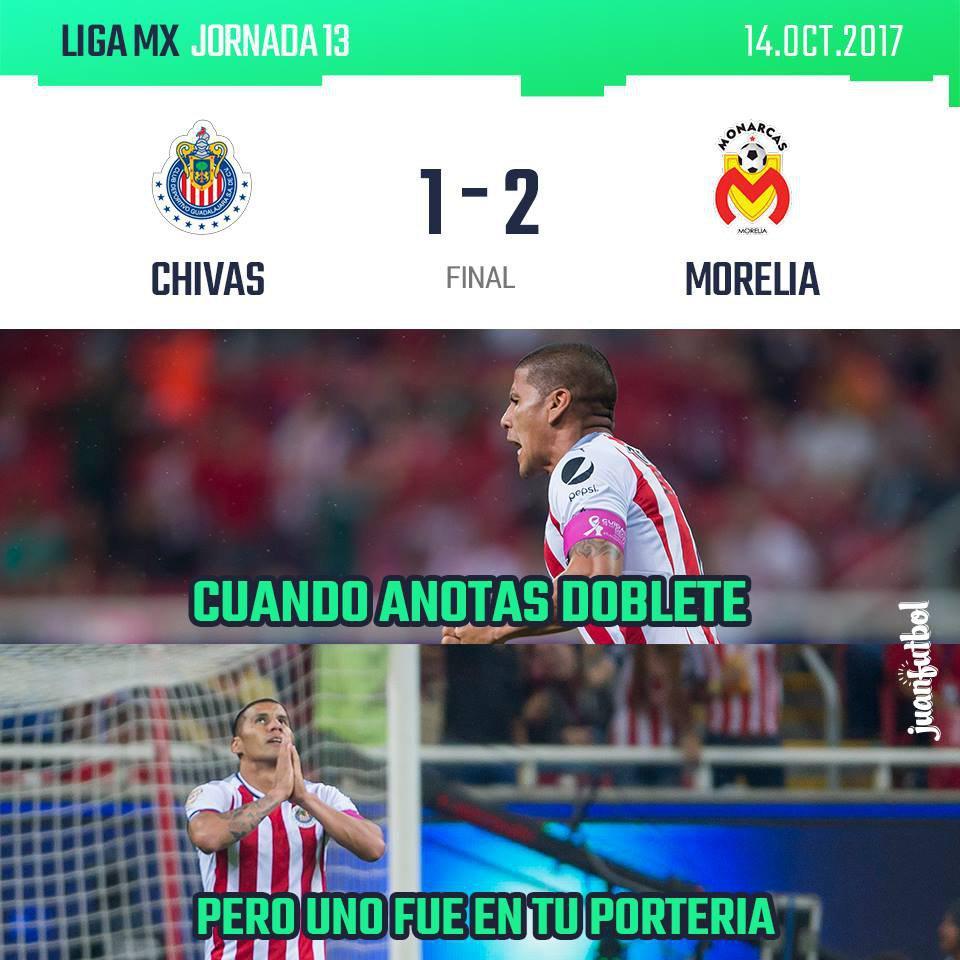 Chivas queda fuera de liguilla for Fuera de tu liga